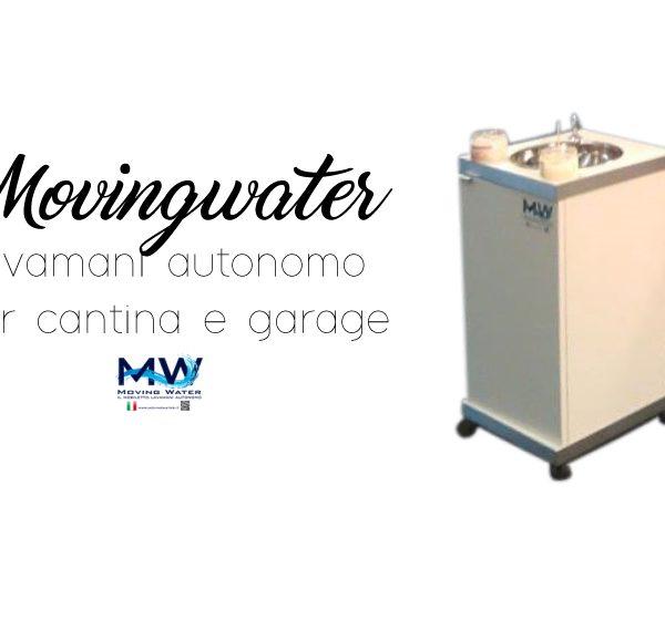Lavamani autonomo per cantina e garage